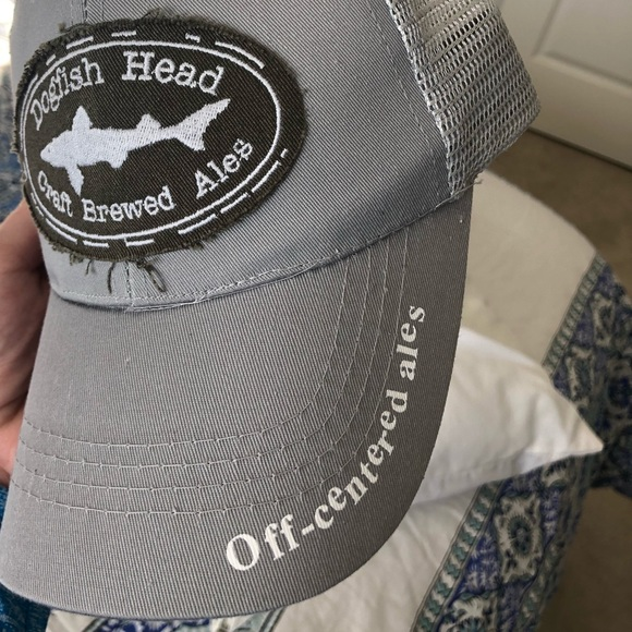 733950bd500 Dogfish Head Adjustable Trucker Hat. M 5c6579efc2e9fe138f99bc4a